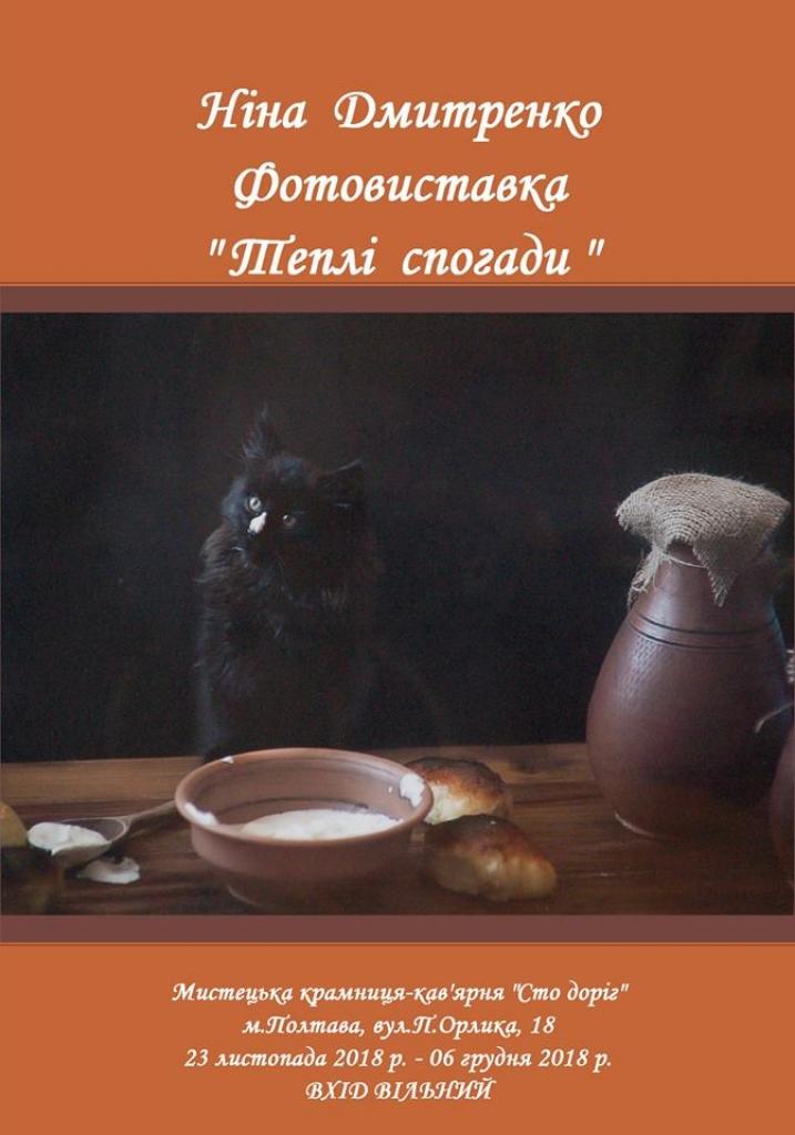PФотовиставка Ніни Дмитренко