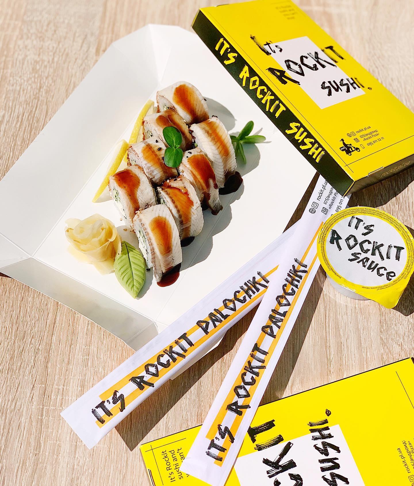 Rockit pizza & sushi