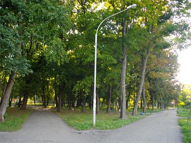 Полтава. Павленковский парк