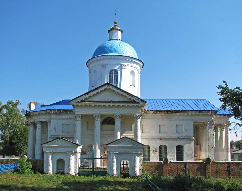 Веприк. Церковь Успения Пресвятой Богородицы