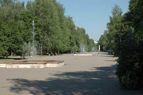 Kremenchug. Pushkin boulevard