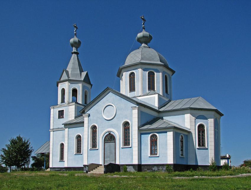 Великая Багачка. Церковь Рождества Пресвятой Богородицы