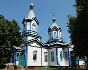 Kharkivtsi. Church of the Nativity of the Blessed Virgin Mary