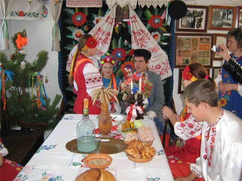 Великі Будища. Музей українського весілля