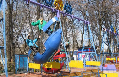 Poltava. Pobeda Park