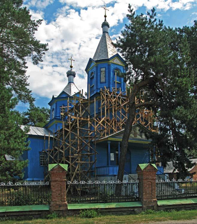 Вельбовка. Церковь Троицы Живоначальной