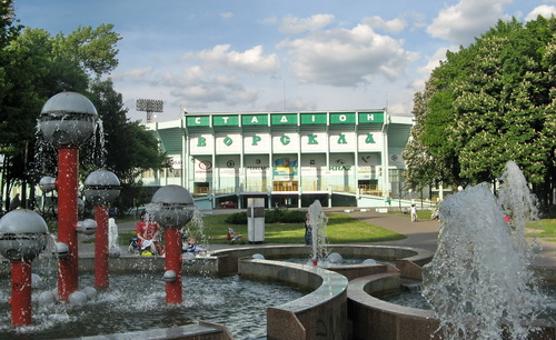 Полтава. Парк независимости